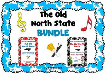 NORTH CAROLINA BUNDLE Music Activities, Chimes & Bells arr