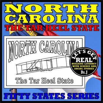 NORTH CAROLINA: The Tar Heel State (Fifty States series)