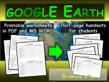 NORTH DAKOTA 3-Resource Bundle (Map Activty, GOOGLE Earth, Family Feud Game)