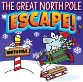 NORTH POLE Escape Room (Christmas Activities, Trivia & Puzzles for Students)