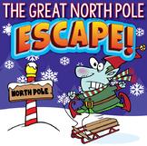 NORTH POLE Escape Room (Christmas Activities, Trivia & Puz