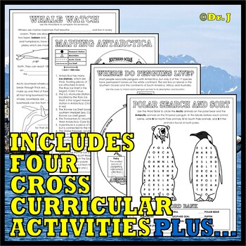 BIOMES: NORTH POLE-SOUTH POLE ACTIVITY PACK