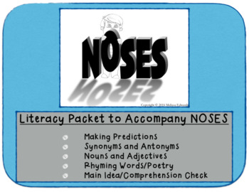 NOSES the Book with Literacy Accompaniment