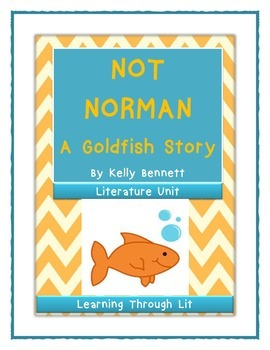 NOT NORMAN - A Goldfish Story - Comprehension Activity