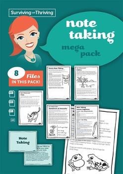 NOTE TAKING - Mega Pack