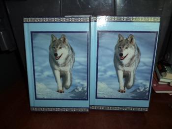 WOLF JOURNALS  (SET OF 2)  ISBN 0-590-04424-9