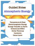 NOTES BUNDLE - Atmospheric Energy *EDITABLE* w/ PowerPoint!