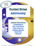 NOTES BUNDLE - Celestial Observations *EDITABLE* w/ PowerPoint!