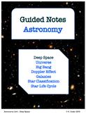NOTES BUNDLE - Deep Space *EDITABLE* w/ PowerPoint!
