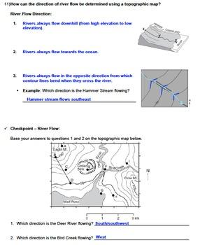 notes bundle topographic maps editable w powerpoint tpt