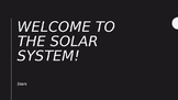 NOTES FOR WEEK ONE OF THE SOLAR SYSTEM UNIT