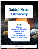 NOTES BUNDLE - Orbits *EDITABLE* with PowerPoint!