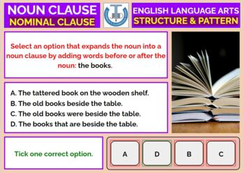 NOUN CLAUSE: WORKSHEETS WITH ANSWERS