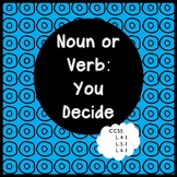 SAME WORD - NOUN AND VERB - COLOR-CODING ACTIVITY - REVISED