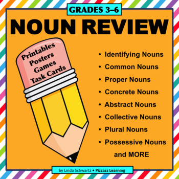 BACK-TO-SCHOOL NOUN REVIEW • GRADES 3–6