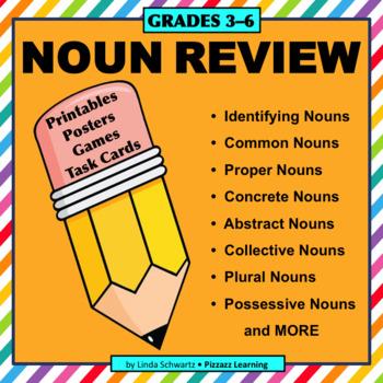 TEST PREP NOUN REVIEW • GRADES 3–6