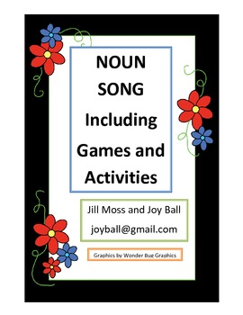 NOUN SONG: Including Games and Activities