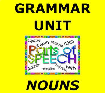 NOUNS:  Parts of Speech Interactive Unit