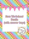 Noun Worksheet Pack (with answer keys)