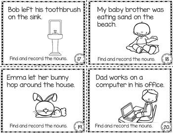 NOUNS Task Cards