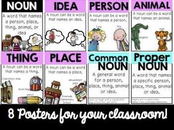 NOUNS - Activities and Task Cards
