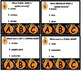 NOUNS TASKS and SCOOT GAME SET with FALL THEME