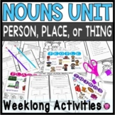NOUNS TAB BOOKS for FIRST SECOND and THIRD GRADE