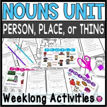 Nouns Activities and Practice