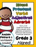 Nouns, Pronouns, Verbs, Adjectives, Adverbs