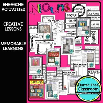 Nouns | Noun Sort | Parts of Speech | Singular and Plural Nouns | Noun Activity