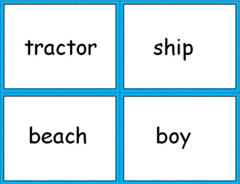 NOUNS SORTING ACTIVITIES
