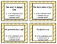 NOUNS and VERBS task card bundle- 216 task cards!