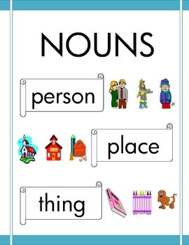 NOUNS: fun with common and proper nouns