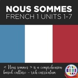 NOUS SOMMES French 1 BUNDLE: Units 1-7