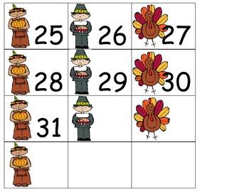 NOV Calendar Cards