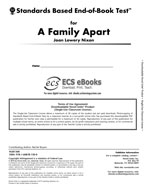 Standards Based End-of-Book Test for A Family Apart