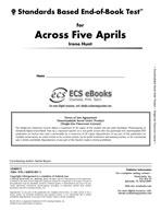 Standards Based End-of-Book Test for Across Five Aprils