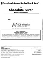Standards Based End-of-Book Test for Chocolate Fever