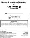 Standards Based End-of-Book Test for Code Orange