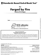 Standards Based End-of-Book Test for Forged By Fire