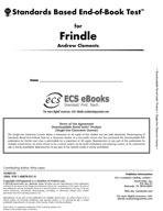 Standards Based End-of-Book Test for Frindle