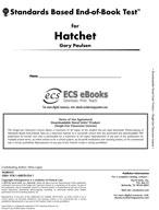 Standards Based End-of-Book Test for Hatchet