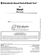 Standards Based End-of-Book Test for Heat