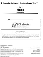 Standards Based End-of-Book Test for Hoot