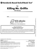 Standards Based End-of-Book Test for Killing Mr. Griffin