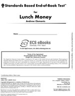 Standards Based End-of-Book Test for Lunch Money