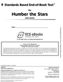 Standards Based End-of-Book Test for Number the Stars
