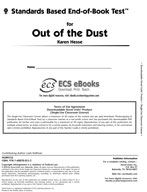 Standards Based End-of-Book Test for Out of the Dust