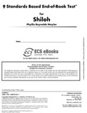 Standards Based End-of-Book Test for Shiloh