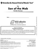 Standards Based End-of-Book Test for Son of the Mob
